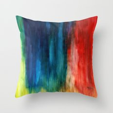 Spring Yeah! - Abstract paint 1 Throw Pillow