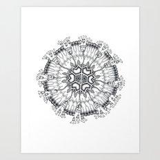 Melethalia-Flagellata-Leptomedusae Art Print