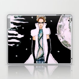 Ethereal Beauty Fashion Illustration By James Thomas Ryan Laptop & iPad Skin
