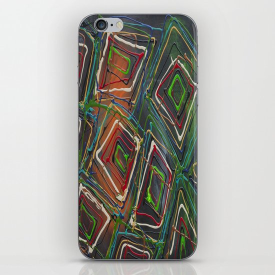 Kaleidescope iPhone & iPod Skin