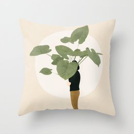 Too Litle for this Pot Throw Pillow