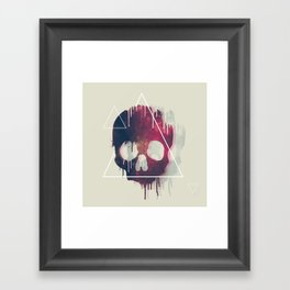 DESKULLAXY II Framed Art Print