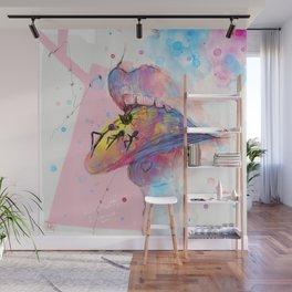Tongue dulce Wall Mural