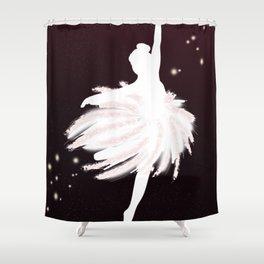 Space Ballerina (1 of 3) Shower Curtain