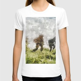 Infantry Attack, World War Two T-shirt