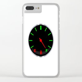 Full Fuel Gauge Clear iPhone Case