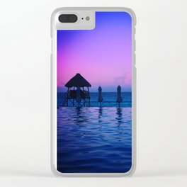 Pink Skies Pt1. Clear iPhone Case