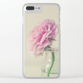 In the Moment Clear iPhone Case