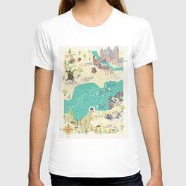 Princess Bride Discovery Map T-Shirt
