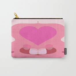 Heart Symm Carry-All Pouch