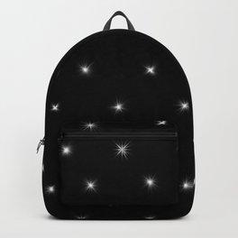 Star Diamond Pattern Backpack