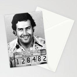Pablo Escobar Mug Shot Stationery Cards