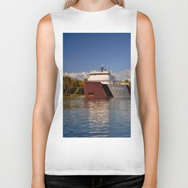 Roger Blough freighter in the Fall Biker Tank