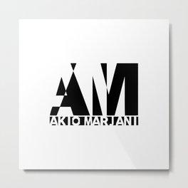 Akio Marjani Metal Print