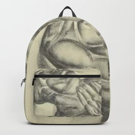 'Lord, oh my Lord' by Iver Rose WPA Era Social Realism African American Lithograph Backpack