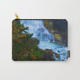 White Falls along the Berg Lake Trail in BC Carry-All Pouch