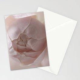 soft pink rose Stationery Cards