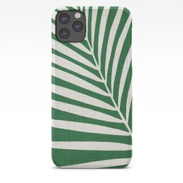 Minimalist Palm Leaf iPhone Case