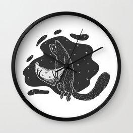 Mooneater Wall Clock