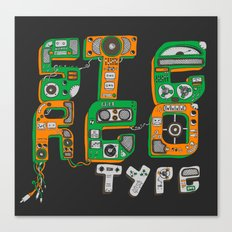 Stereotype Canvas Print