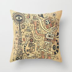 Arbracosmos Throw Pillow