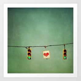 Ready For Love  Art Print
