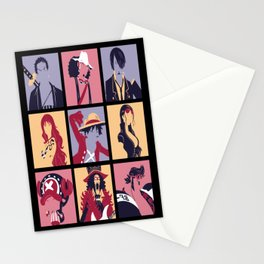 King of Pirates Stationery Cards