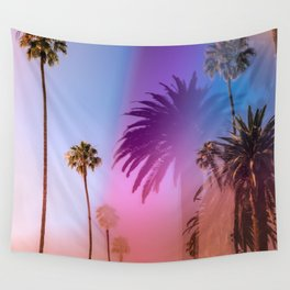 Sunshine and Palm Trees Wall Tapestry