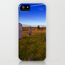 To the grave iPhone Case