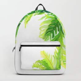 Angel Wing Fern Backpack
