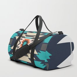 Double ethnic decor Duffle Bag