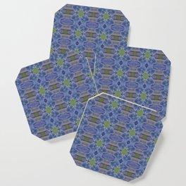 Nasturtium Flower Pattern Coaster