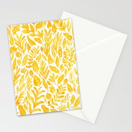 Dandelion Yellow Stationery Cards