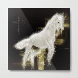 Carousel magic Metal Print