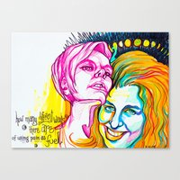 pocket fuel Canvas Prints featuring Fuel by Casey Arden Art