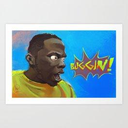 Buggin! Phife Dawg Tribute Art Print