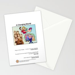 A Changing World Stationery Cards