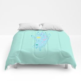 Higher - Illustration Comforters