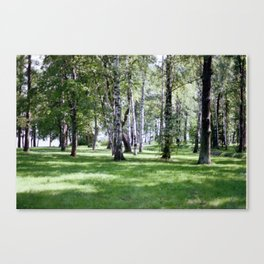 Peterhof Woods Canvas Print