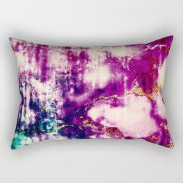 golden crackle Rectangular Pillow