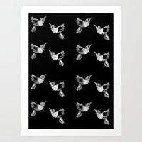 birdies Art Print