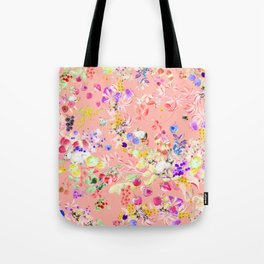 Soft bunnies pink Tote Bag