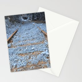 Railway to Blissful Oblivion Stationery Cards