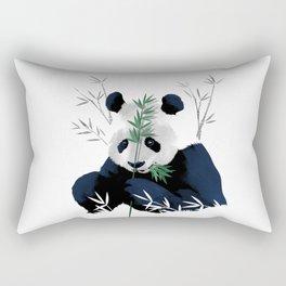 Panda Bamboo Rectangular Pillow