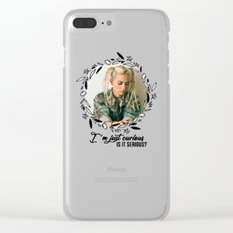 hayley curious Clear iPhone Case