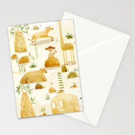 how the leopard got his spots #1 Stationery Cards
