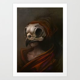 Burrow Art Print
