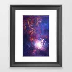 In The Center Of The Milky Way Framed Art Print