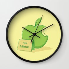 Marketing power Wall Clock