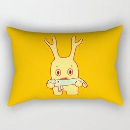 Deflated friend Rectangular Pillow